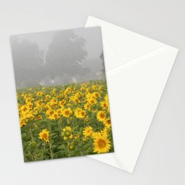 Sunflower Farm and Mist Stationery Cards
