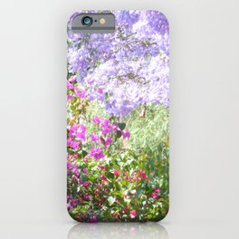 Bulawayo Jacarandas iPhone Case