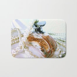 Perfume & Pearls Bath Mat