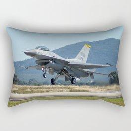 F-16 Fighting Falcon Rectangular Pillow