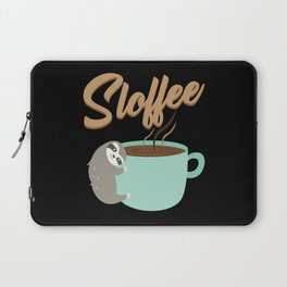 Sloffee   Coffee Sloth Laptop Sleeve