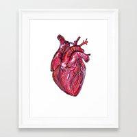 romance Framed Art Prints featuring Romance by Adam McDade