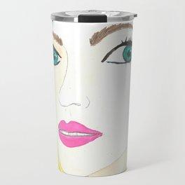 blond Travel Mug