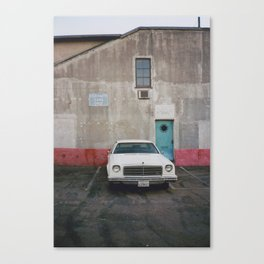 American Car Canvas Print
