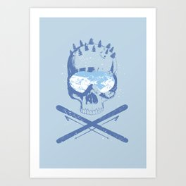 The Slopes Art Print