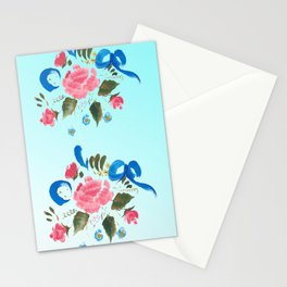 Mums Flowers for Yoga Stationery Cards
