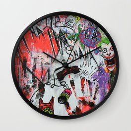 A broken message from my future self is trying to get through Wall Clock