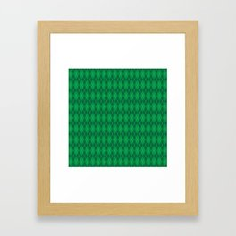 Happy St. Patrick's Day Pattern | Ireland Luck Framed Art Print