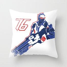 Sodier 76 Throw Pillow
