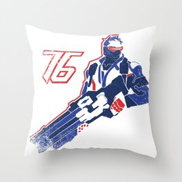 Sodier 76 Throw Pillow