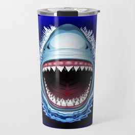 Shark Jaws Attack Travel Mug