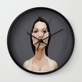 Celebrity Sunday ~ Monica Bellucci Wall Clock