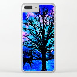 TREE ENCOUNTER Clear iPhone Case