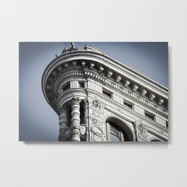 Top of the Iron Metal Print