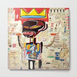 Basquiat Untitled 3 Metal Print