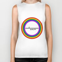 equality Biker Tanks featuring Equality by LukaG