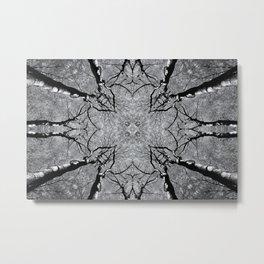 Zen Tree 4 Metal Print