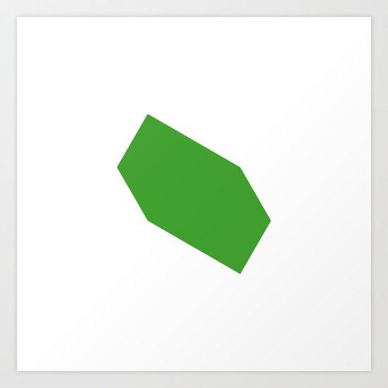 #446 Movement – Geometry Daily Art Print