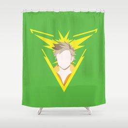 Team Instinct leader - Spark Shower Curtain