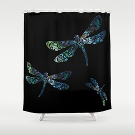 Dragonfly's Shower Curtain