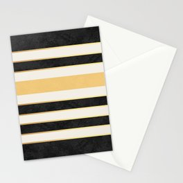 Marble stripes Stationery Cards