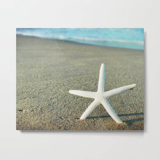 Star of the Sea Metal Print