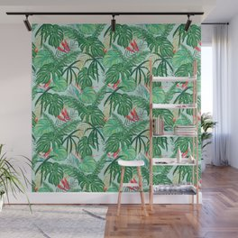 The Tropics ||| #illustration #tropical Wall Mural