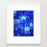 discount Framed Art Prints featuring Sapphire Nebulæ by Aaron Carberry