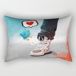 sneaker Love Rectangular Pillow