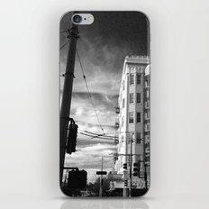 Inner Liquors Black & White San Francisco iPhone & iPod Skin