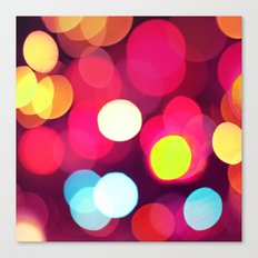 Pink Light Canvas Print
