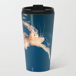 Dancing Jellyfish Metal Travel Mug