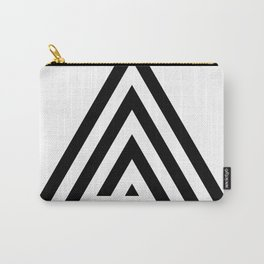 Triangle Spiral Carry-All Pouch