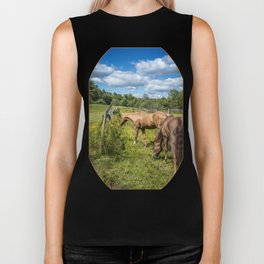 Out to pasture Biker Tank
