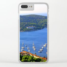 Yachts in Croatia Clear iPhone Case