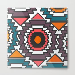 Colorful forms Metal Print
