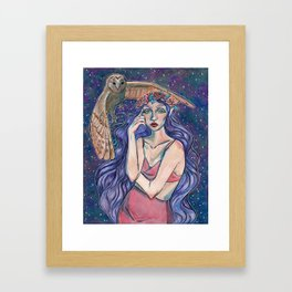 Whisper in the wind Framed Art Print