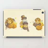 hermione iPad Cases featuring MEME 013 Hermione Ron Harry by mushroomtale