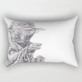 Yoda sketch Rectangular Pillow