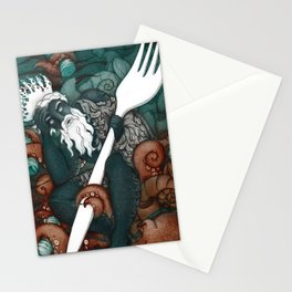Plastic Pollution in the Ocean Stationery Cards