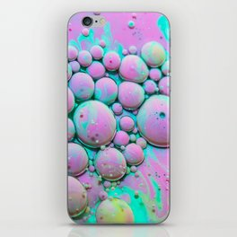 Cotton Candy Bubble Galaxy iPhone Skin