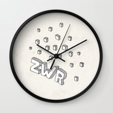 ZWR sugarcubes Wall Clock