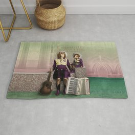 The Country Collies Rug