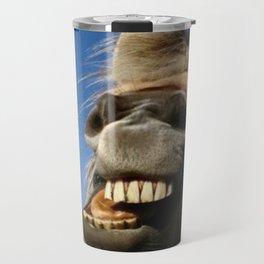 Happy Horse Photography Print Travel Mug