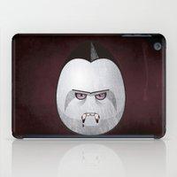dracula iPad Cases featuring Dracula by Marcos Lozano