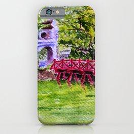 The Huc Bridge in Hanoi, Vietnam iPhone Case