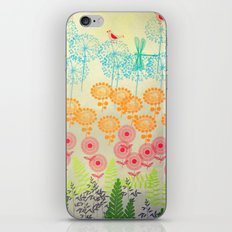 Whimsical Garden iPhone & iPod Skin
