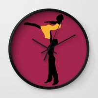 dirty dancing Wall Clocks featuring Dirty Dancing by FilmsQuiz