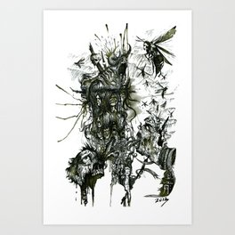 Monument Of The Uncleansed Art Print