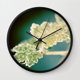 Icy Needles Wall Clock